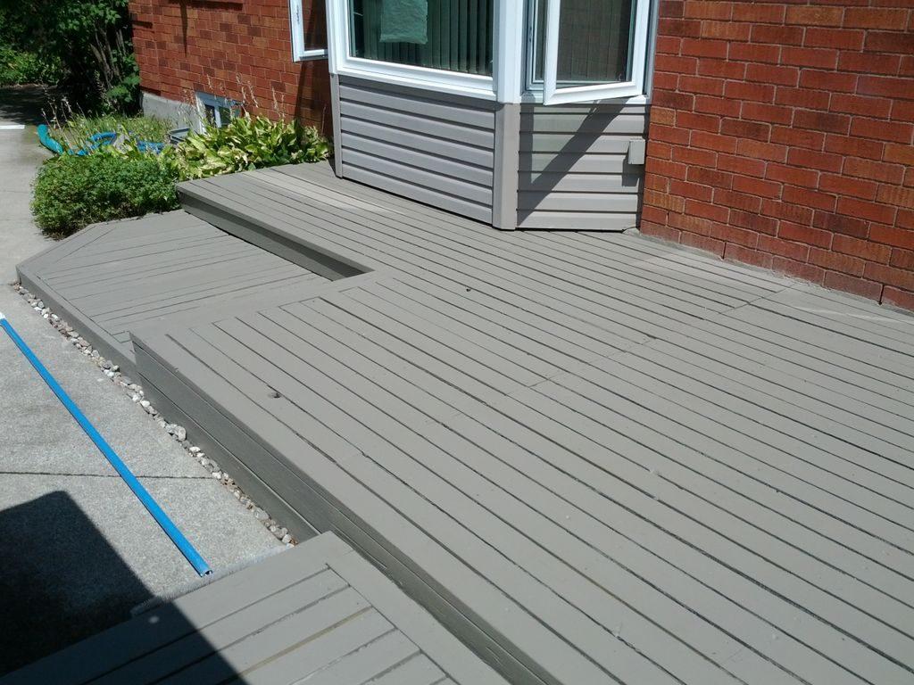 Deck Restored