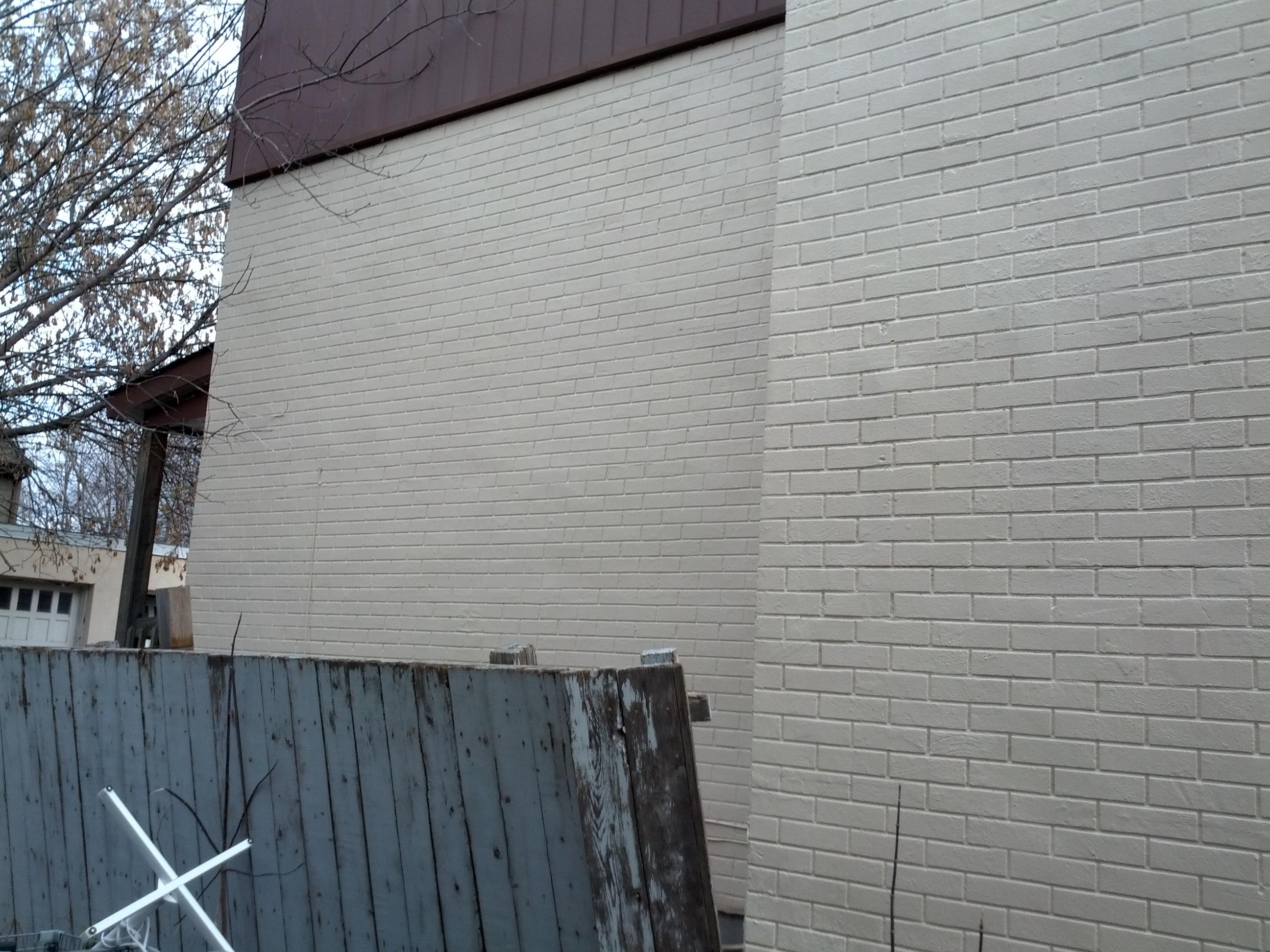 Brickwork Sealed